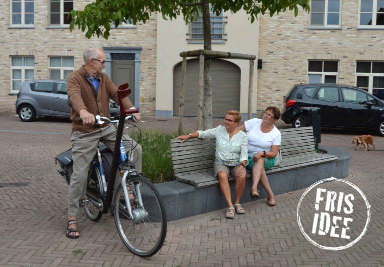 Extra banken geeft senioren de kans om een wandeling te maken