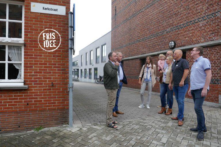 Nieuw Retie op werkbezoek aan het huis van Stappaerts naast het gemeentehuis.