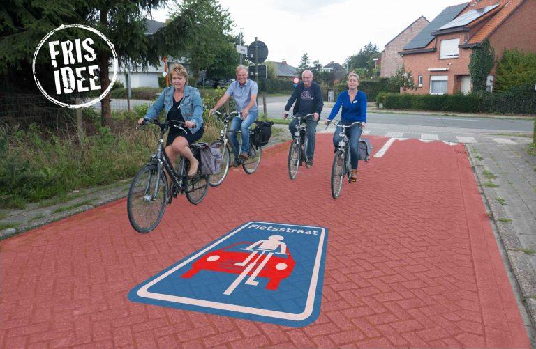 De Kapelstraat wordt fietsstraat