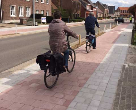 Fietspad Hovestraat, veilige schoolomgeving