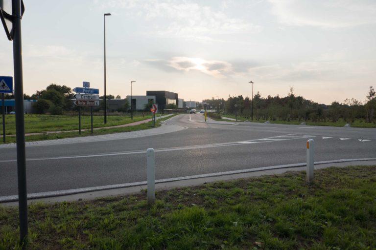 Kruispunt met Kerkhofstraat, Europalaan